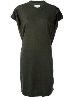 трикотажное короткое платье Maison Margiela