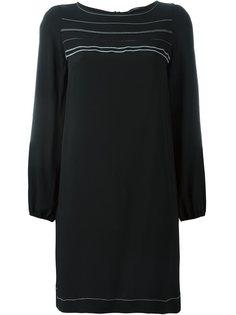 платье с контрастной окантовкой  Odeeh