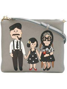 сумка через плечо с аппликацией семьи Dolce & Gabbana
