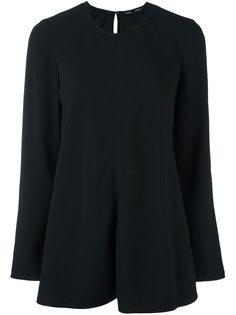 расклешенная блузка с длинными рукавами Proenza Schouler