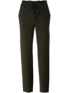 брюки с эластичным поясом Theory