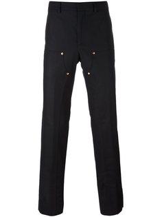 брюки с панельным дизайном Givenchy