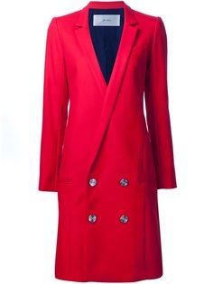 двубортное пальто  Julien David