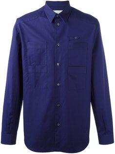 рубашка с накладными карманами Maison Margiela