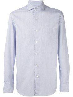 полосатая рубашка с нагрудным карманом Aspesi