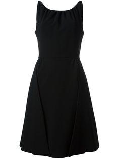 платье со складками Moschino