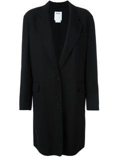 однобортное пальто DKNY