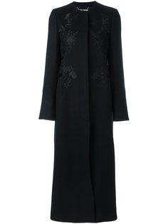 пальто с цветочной вышивкой Stella McCartney