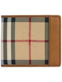 маленький бумажник в клетку Burberry