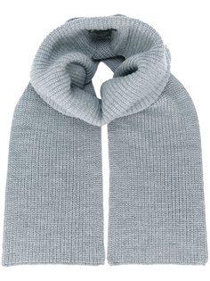 шарф ребристой вязки Barbara Bui