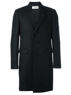 классическое пальто  Saint Laurent