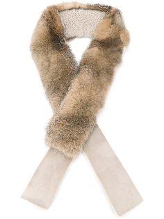 шарф из лисьего меха и овчины 32 Paradis Sprung Frères