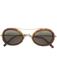солнцезащитные очки в круглой оправе Matsuda