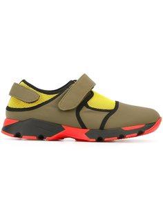 кроссовки с панельным дизайном Marni