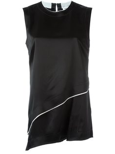 атласный топ DKNY