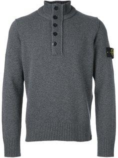свитер на молнии  Stone Island