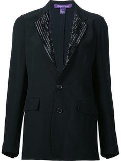 декорированный пиджак Yvette Ralph Lauren