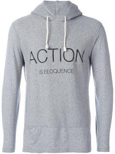 толстовка с принтом Action Is Eloquence  Ganryu Comme Des Garcons