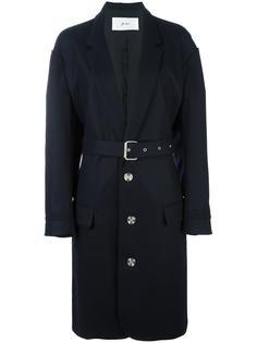 однобортное пальто  Julien David