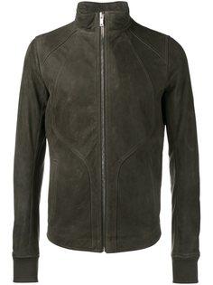 кожаная куртка на молнии Rick Owens