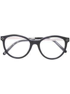 солнцезащитные очки в овальной оправе Chloé Eyewear