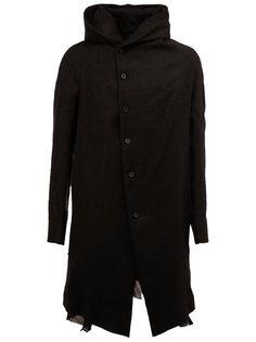 пальто с высоким воротником  Masnada