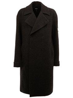 однобортное пальто  Yang Li