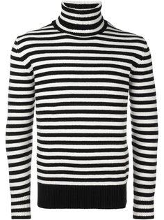 свитер-водолазка в полоску  Moncler