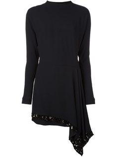платье с пайетками  Marni