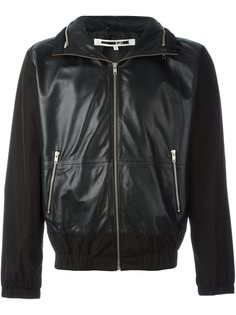 кожаная куртка с панельным дизайном McQ Alexander McQueen