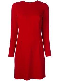 платье на молнии с вытачками Mm6 Maison Margiela