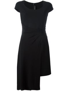 многослойное асимметричное платье Versace