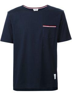 футболка с логотипом бренда Thom Browne