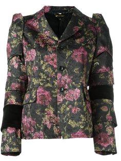 жаккардовый пиджак  Comme Des Garçons