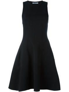 расклешенное платье со спинкой рейсер T By Alexander Wang