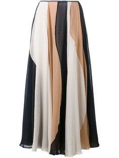 плиссированная юбка Roksanda