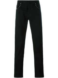 джинсы кроя слим  Rockstud  Valentino