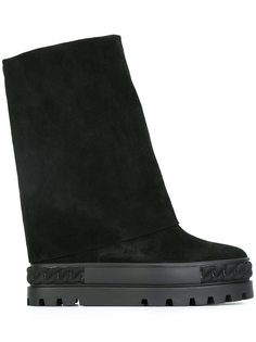 ботинки на утолщенной подошве Casadei