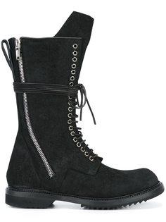 ботинки на шнуровке  Rick Owens