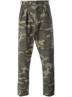брюки с камуфляжным принтом Faith Connexion