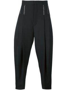зауженные брюки в складку Haider Ackermann