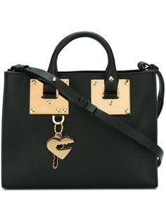 маленькая квадратная сумка-тоут Albion Sophie Hulme