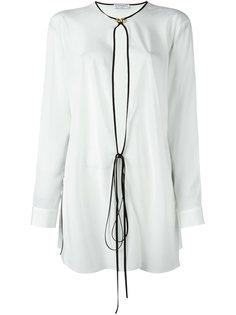 блузка с контрастной окантовкой  Vionnet