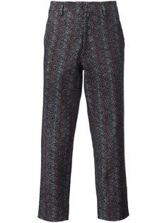 брюки в полоску Aganovich
