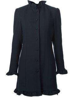 пальто с рюшами JW Anderson