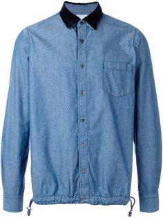 джинсовая рубашка  Sacai