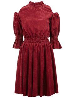 платье с открытыми плечами  Drome