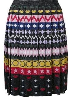 юбка с плиссировкой Mary Katrantzou