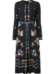 платье с цветочным принтом  Vilshenko