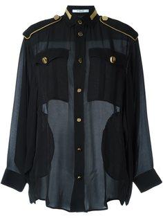 блузка в стиле милитари Givenchy